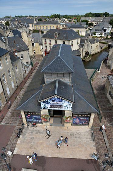 couverture en ardoise de l'OT de Bayeux
