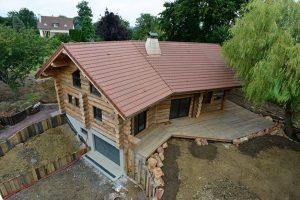 Pose d'une toiture en tuiles à Sommervieu