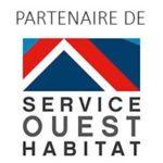 logo service ouest habitat toiture